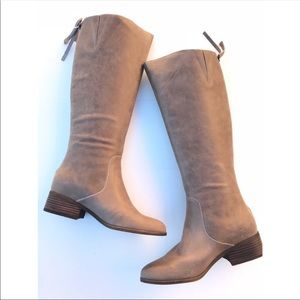 Lucky Brand Lanesha Over The Knee Boots Brindle